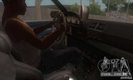 New Sultan HD para GTA San Andreas vista interior