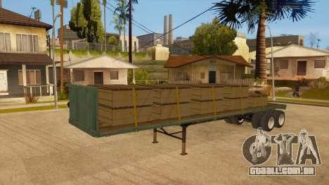 Rede de arrasto para GTA San Andreas vista direita