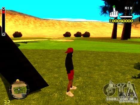 Pele vagabundo v1 para GTA San Andreas segunda tela
