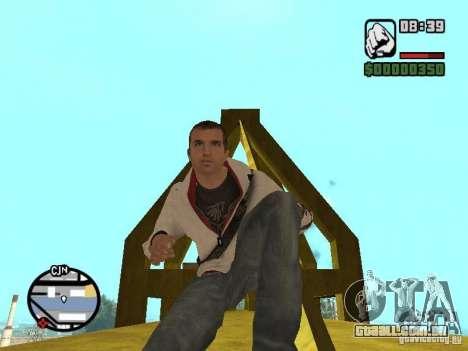 Desmond Miles para GTA San Andreas sétima tela