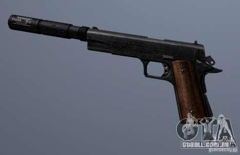 SilencedM1911 para GTA San Andreas terceira tela