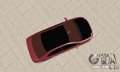 Toyota Corolla Tuning para GTA San Andreas vista direita