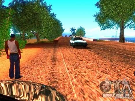Drivers normal na pista para GTA San Andreas