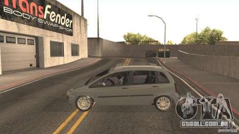 Fiat Idea HLX para GTA San Andreas vista direita