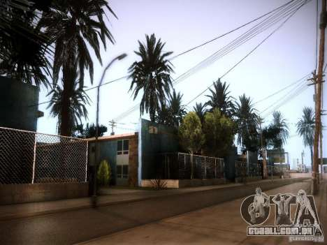 New trees HD para GTA San Andreas por diante tela