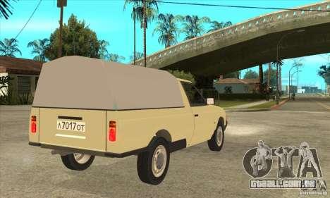 AZLK 2335 para GTA San Andreas vista direita