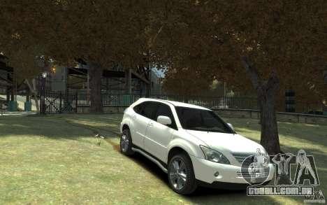 Lexus RX 400h para GTA 4 vista interior