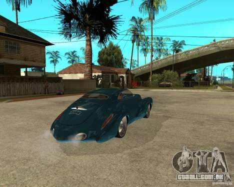 Holden Efijy para GTA San Andreas traseira esquerda vista