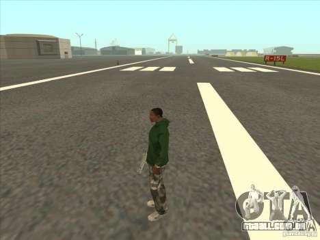 Teleportar para um marcador para GTA San Andreas por diante tela