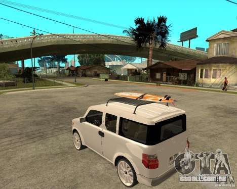 Honda Element para GTA San Andreas esquerda vista