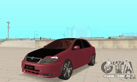 Toyota Corolla Tuning para GTA San Andreas
