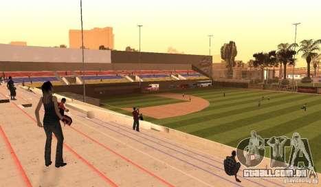 Campo de beisebol animado para GTA San Andreas segunda tela