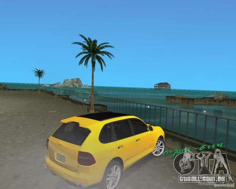 2009 Porsche Cayenne Turbo para GTA Vice City vista direita