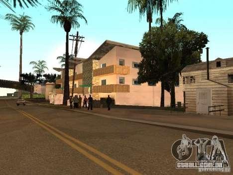 Grand Street para GTA San Andreas quinto tela