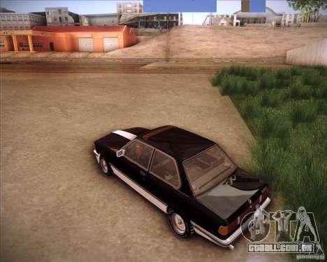 BMW E21 para GTA San Andreas traseira esquerda vista