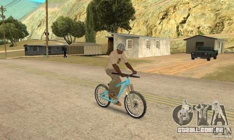 Dirt Jump Bike para GTA San Andreas vista traseira