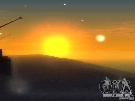 Água de HQ para GTA San Andreas terceira tela