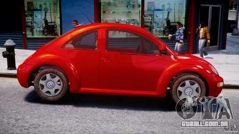 Volkswagen New Beetle 2003 para GTA 4 vista de volta
