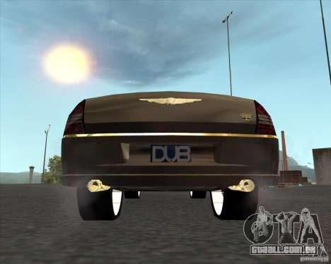 Chrysler 300C dub edition para GTA San Andreas traseira esquerda vista