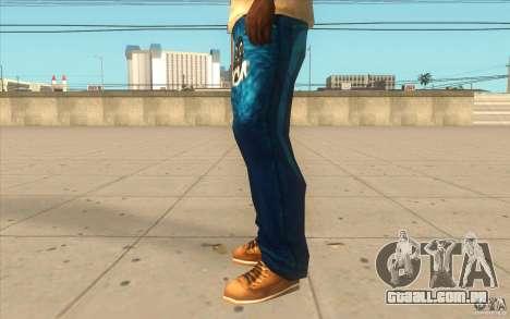 Remix-Evisu-Joker-Burberry Hose para GTA San Andreas segunda tela