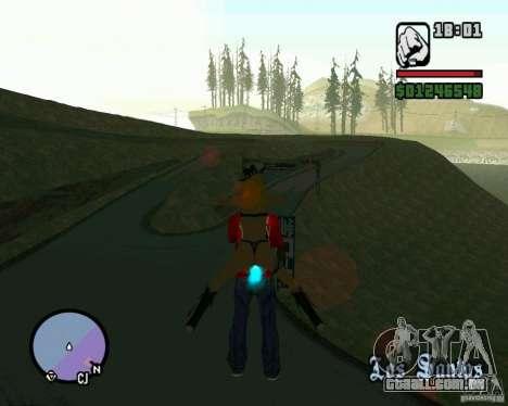 Ebisu Touge para GTA San Andreas terceira tela