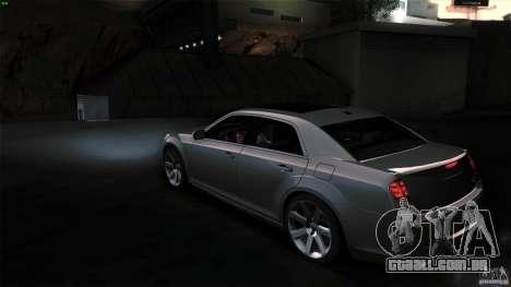 Chrysler 300C V8 Hemi Sedan 2011 para GTA San Andreas vista direita