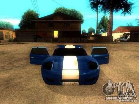 Bullet GT Drift para GTA San Andreas vista direita
