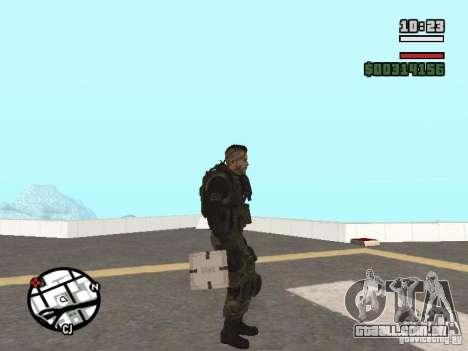 Os explosivos de cod mw2 para GTA San Andreas segunda tela