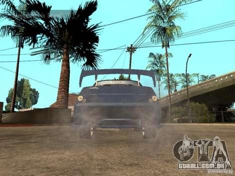 LADA 21103 rua edição para GTA San Andreas traseira esquerda vista