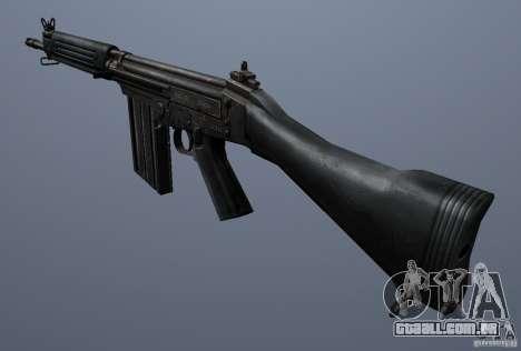 FN FAL para GTA San Andreas