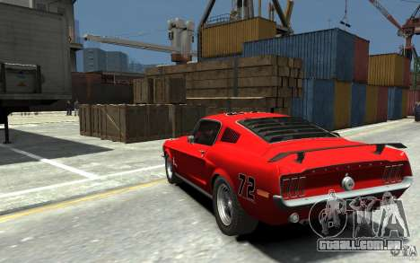 Ford Mustang Fastback 302did Cruise O Matic para GTA 4 traseira esquerda vista
