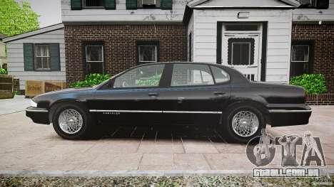 Chrysler New Yorker LHS 1994 para GTA 4 vista de volta