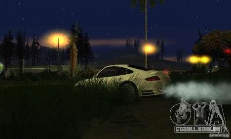 Color Correction para GTA San Andreas oitavo tela