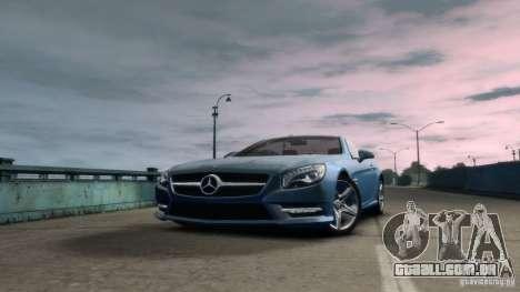 Mercedes-Benz SL 350 2013 v1.0 para GTA 4 traseira esquerda vista