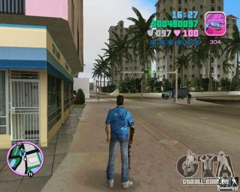 Pele da versão BETA para GTA Vice City segunda tela