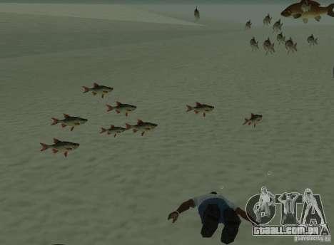 Novos peixes para GTA San Andreas