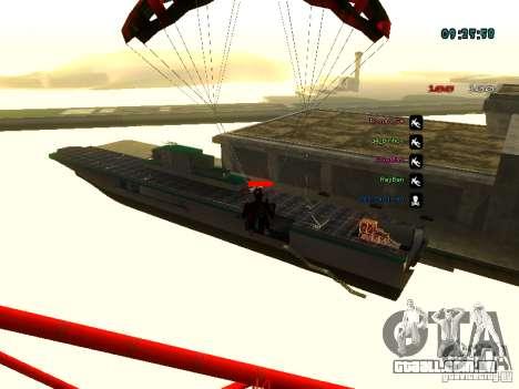 Mochila-pára-quedas para GTA: SA para GTA San Andreas sétima tela