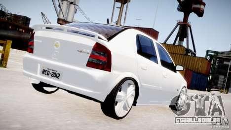 Chevrolet Astra Advantage 2009 para GTA 4 vista direita