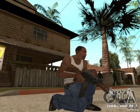 CoD:MW2 weapon pack para GTA San Andreas por diante tela
