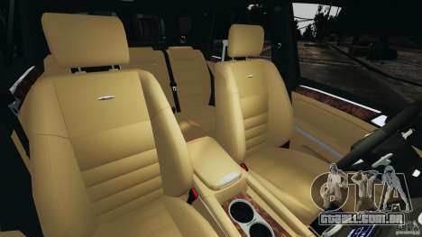 Mercedes-Benz ML63 (AMG) 2009 para GTA 4 vista interior