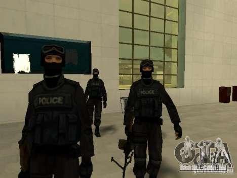Ajuda Swat para GTA San Andreas terceira tela