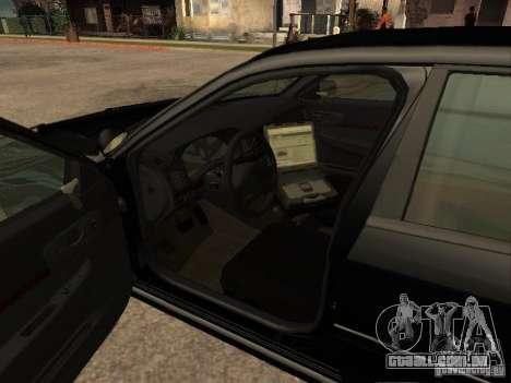 Chevrolet Impala Undercover para GTA San Andreas traseira esquerda vista