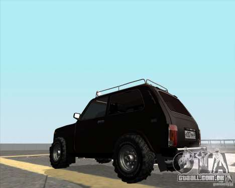 VAZ 21213 Offroad para GTA San Andreas esquerda vista
