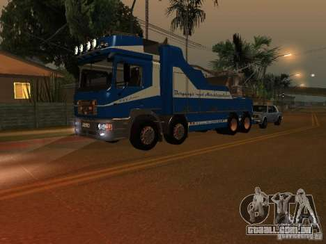 HOMEM F2000 (com roteiro de CLEO) para GTA San Andreas