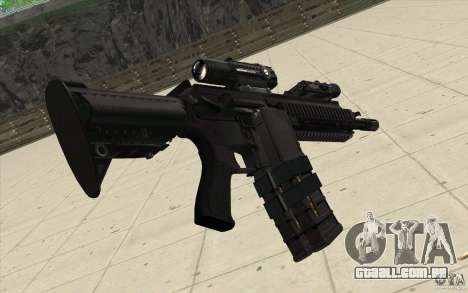 Carabina HK416 para GTA San Andreas segunda tela