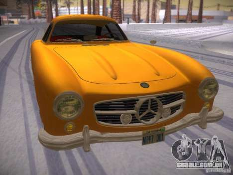 Mercedes-Benz 300SL para GTA San Andreas vista direita