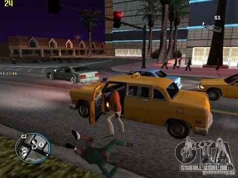 GTA IV  San andreas BETA para GTA San Andreas quinto tela
