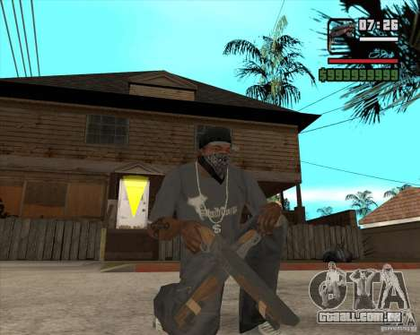 Hudra para GTA San Andreas