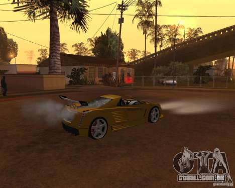 Cadillac Cien The SHARK DREAM Tuning para GTA San Andreas vista traseira