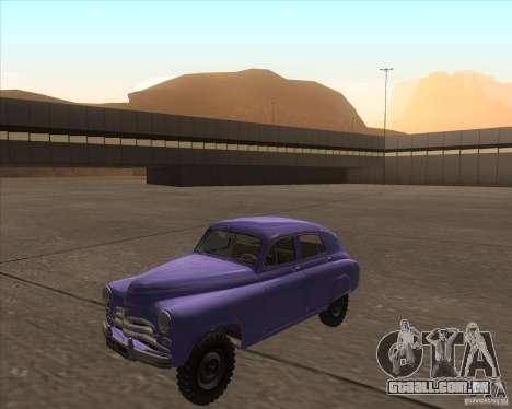 GAZ M72 para GTA San Andreas